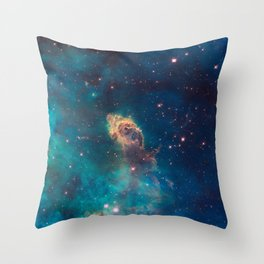 Stellar Jet in the Carina Nebula Throw Pillow