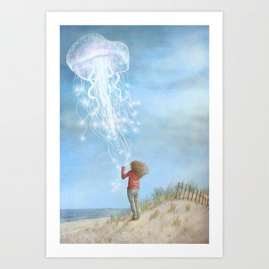 By the Sea Art Print