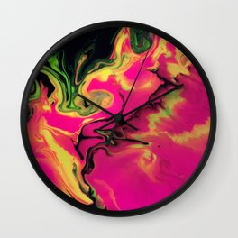 Cosmic Avalanche Wall Clock