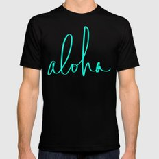 Aloha MEDIUM Mens Fitted Tee Black