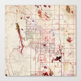 Colorado map canvas prints society6 gumiabroncs Images