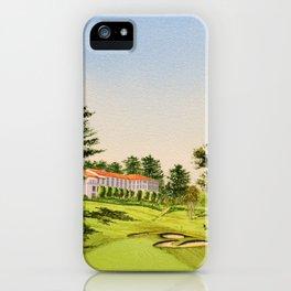 Olympic Golf Club 18th Hole iPhone Case