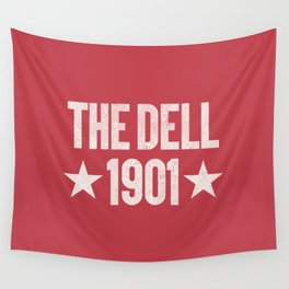 The Dell Football Ground Wall Tapestry