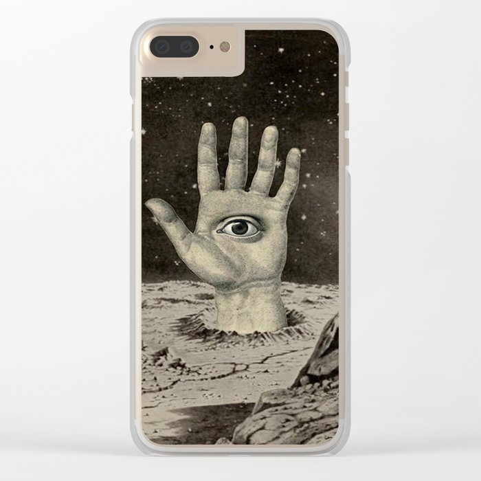 DO YOU SEE WHAT I SEE? Clear iPhone Case
