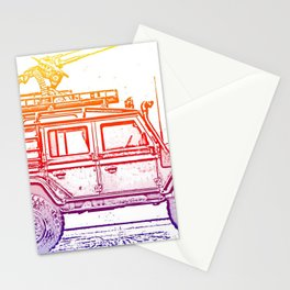 Defender 110 Stationery Cards