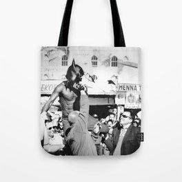 Dark Street Knight Tote Bag