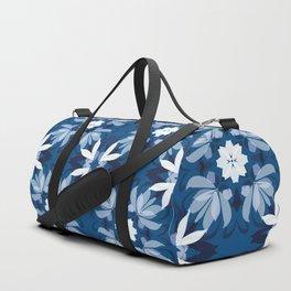Abstract flower pattern 3d Duffle Bag