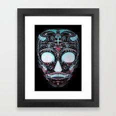 Sweets and Skulls Framed Art Print