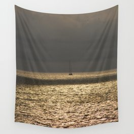 Morning Sailing at early time Wall Tapestry