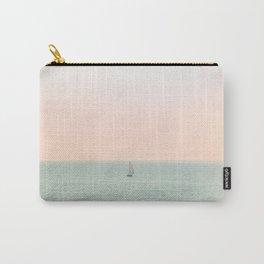 Sky Blush x Ocean Art Carry-All Pouch