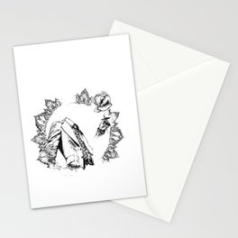 The Headless Bruce - MiguelRC Stationery Cards