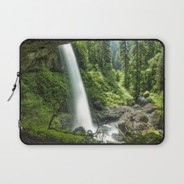 Looking Out From Under North Falls Laptop Sleeve