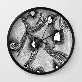holes between the worlds Wall Clock