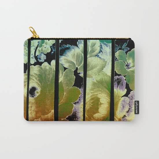 trapped floral Carry-All Pouch