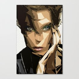 Female Expressions XLIV Canvas Print