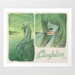 Cannibalism Art Print