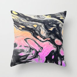 Mood Swinger Throw Pillow
