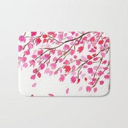 Rain of Cherry Blossom Bath Mat