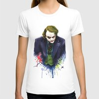 the joker T-shirts featuring Joker by Lyre Aloise