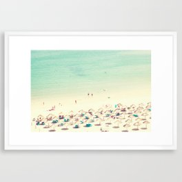 beach XVI Framed Art Print