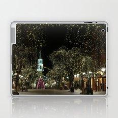 Church Street, Burlington Vermont Laptop & iPad Skin