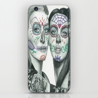 lindsay lohan iPhone & iPod Skins featuring Meryl Streep and Lindsay Lohan  by Jimmy Lee