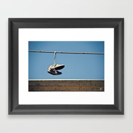 Ballarat Street Framed Art Print