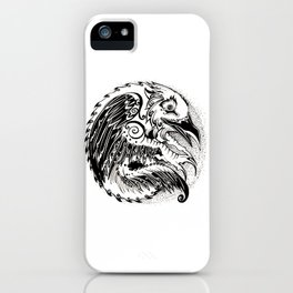 Crow Sun iPhone Case