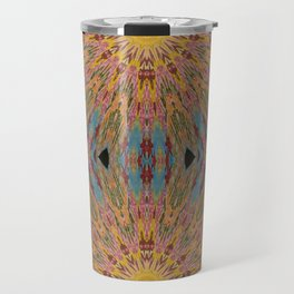 sun burst Travel Mug