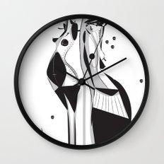 Sleepless nights - Emilie Record Wall Clock