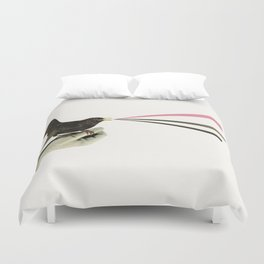 Bird in the Hand Duvet Cover