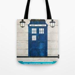 Doctor Who & Sherlock Tote Bag