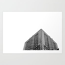 Montreal Architecture Art Print
