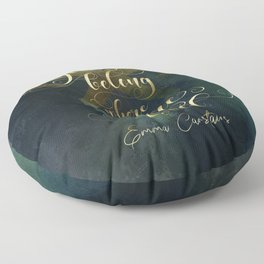 You belong where you're loved. Emma Carstairs. Lady Midnight. Floor Pillow