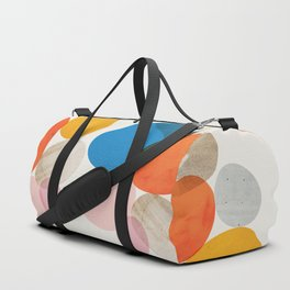 Abstraction_Pebbles_002 Duffle Bag