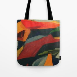 Lessons To Learn Abstract Landscape Tote Bag