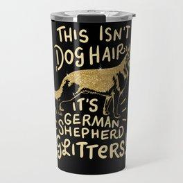 German Shepherd Dog Puppy Gift for Dog Lovers & Owners Travel Mug