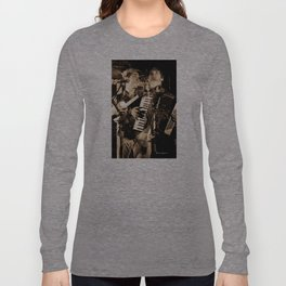 The overlayed band Long Sleeve T-shirt