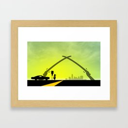New Austin (Iraq Swords) Framed Art Print