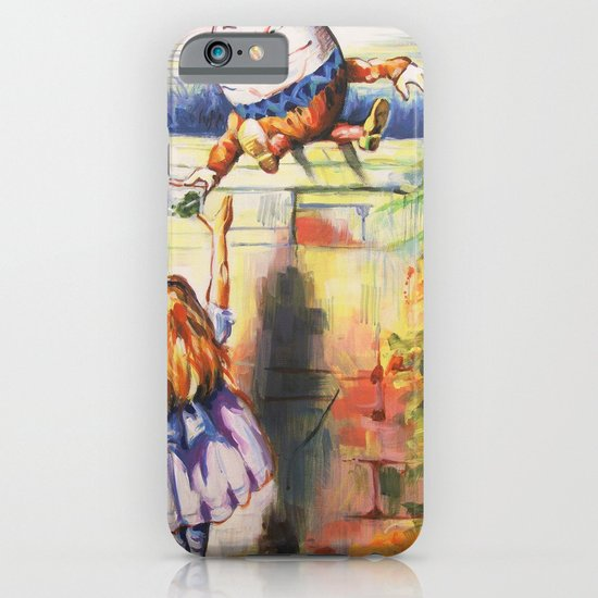 Alice Meeting Humpty Dealer iPhone & iPod Case