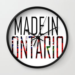Made in Ontario Wall Clock
