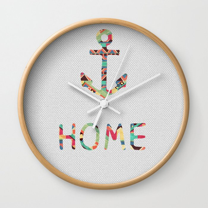 you make me home Wall Clock