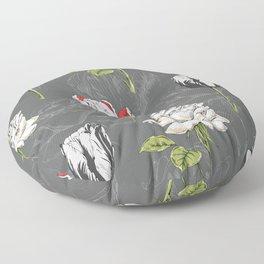 Modern Botanical Floor Pillow
