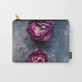 Three Rose Buds II Carry-All Pouch