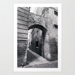 Embellishing Arch Art Print