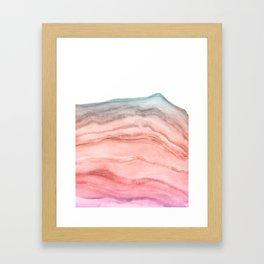 Agate Art Southwest Colors Framed Art Print