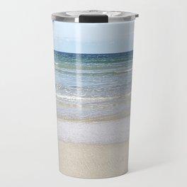 Sea shallows3 , Hayle ,Cornwall Travel Mug