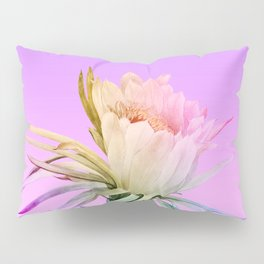 Purple Cactus Pillow Sham