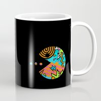 80s Mugs featuring Pac-80s by Skorretto