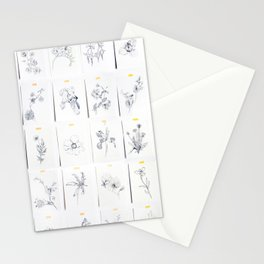 Botanical Collection Stationery Cards
